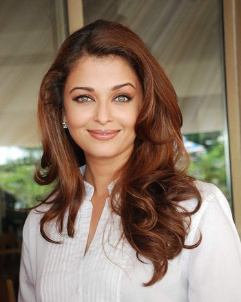 Face Features of Aishwarya Rai
