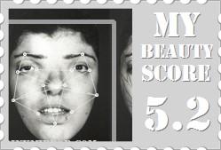 beauty score for unattractive face