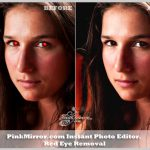 red eye removal photo editor