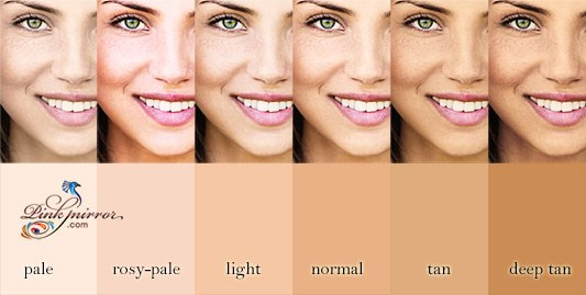 rosy skin tone