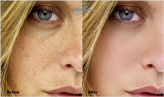 airbushing for perfect skin