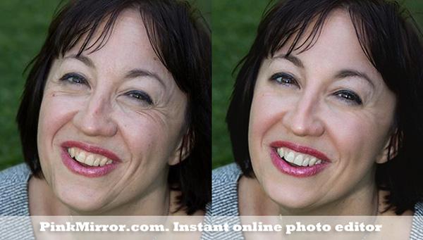teeth whiten photo editor