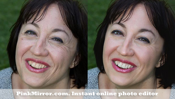 teeth whiten photo retouch