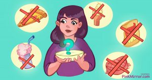 Avoid or eliminate processed food for a slim face