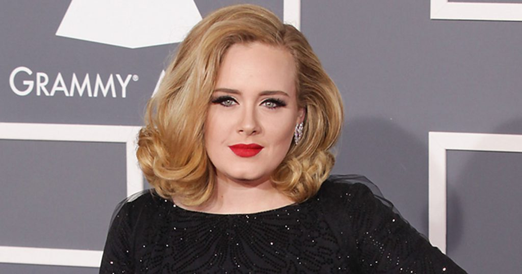 Adele hair style for round face