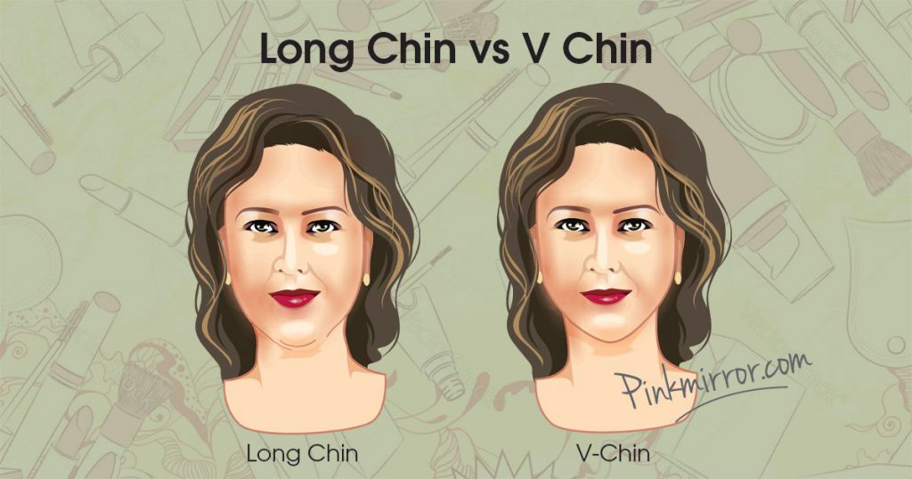 Long Chin vs V Chin