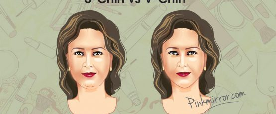 Makeup, Clothes and Hairstyle Tips for V Chin