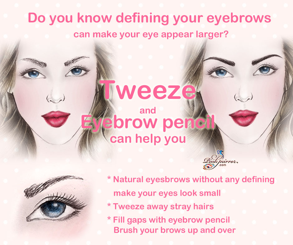 Makeup Tips For Your Eyes Appear Bigger And Wider Pinkmirror Blog