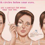 Conceal dark circles below your eyes