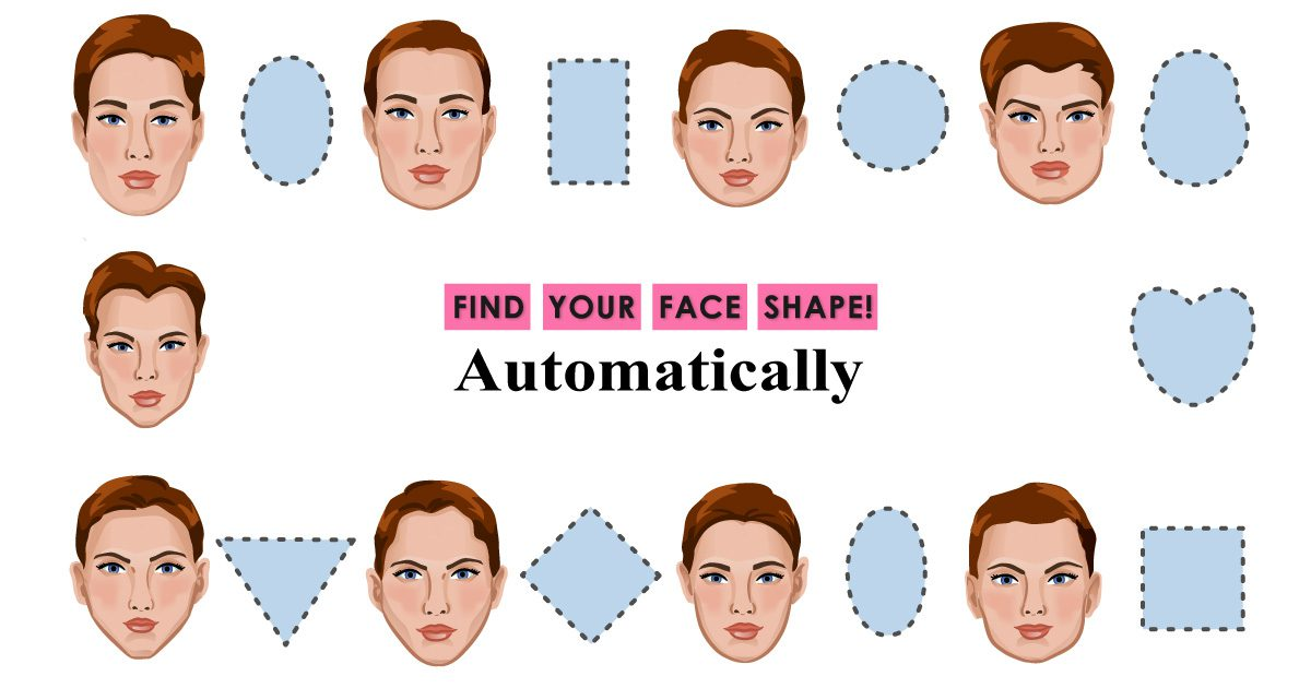 pinkmirror find your face shape automatically